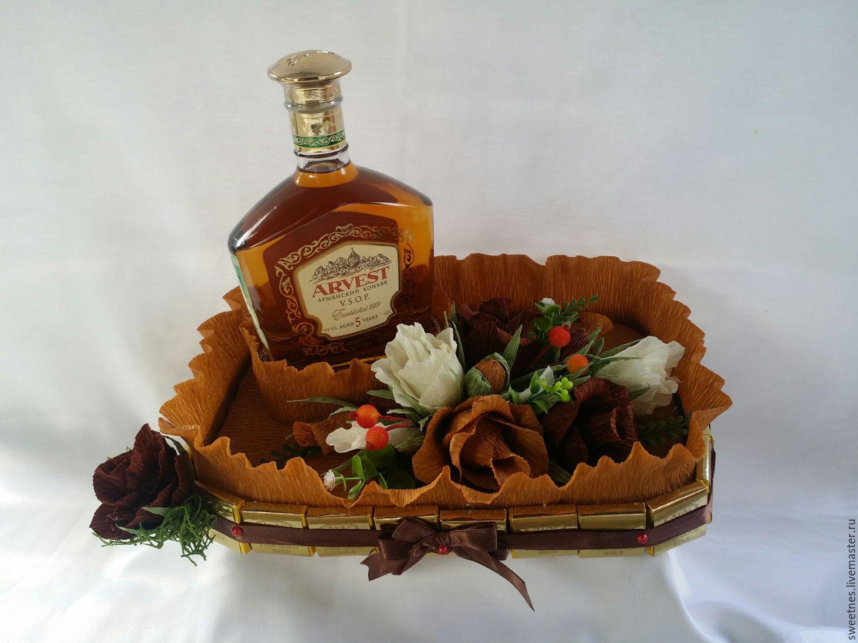 Подарок из коньяка своими руками для мужчины
