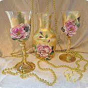 Посуда handmade. Livemaster - original item Set for wine,Beaujolais, wine set. Handmade.