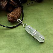 Фен-шуй и эзотерика handmade. Livemaster - original item Pendant with rock crystal. Handmade.