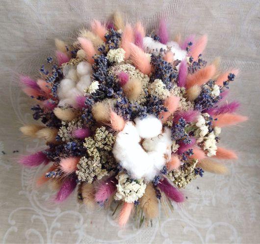 """Букеты ручной работы. Ярмарка Мастеров - ручная работа. Купить Букет """"Прима"""". Handmade. Прованс, букет цветов, лаванда, шебби"""