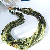 Украшения handmade. Livemaster - original item Necklace with grossular