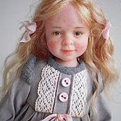 Куклы и игрушки ручной работы. Ярмарка Мастеров - ручная работа Авторская кукла из полимерной глины Злата. Handmade.