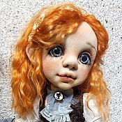 Dolls handmade. Livemaster - original item Interior textile doll. Booked.. Handmade.