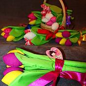 Цветы и флористика ручной работы. Ярмарка Мастеров - ручная работа Текстильные тюльпаны. Handmade.