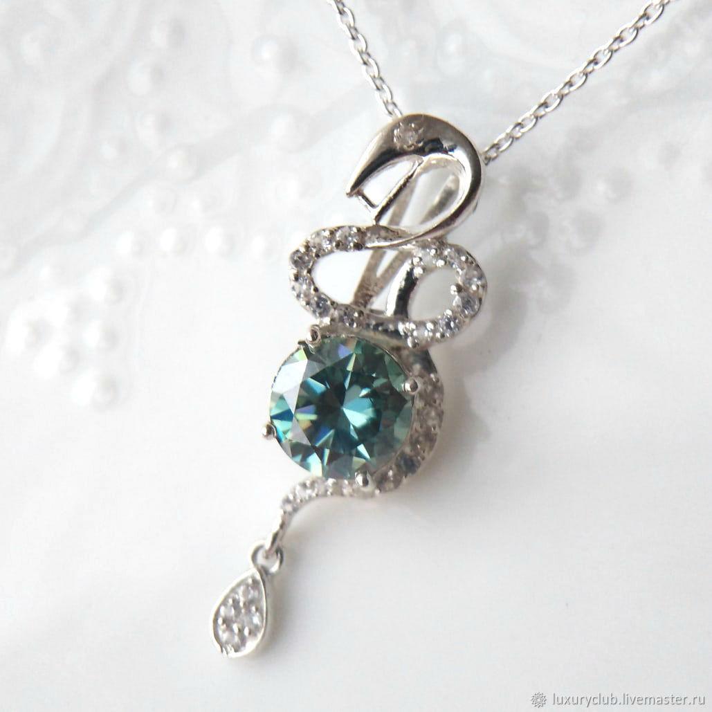Snake diamond pendant 2.75 ct buy, Pendants, Tolyatti,  Фото №1