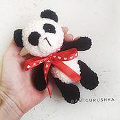 Куклы и игрушки handmade. Livemaster - original item Soft toy knitted Panda. Handmade.