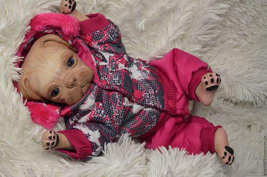 Куклы-младенцы и reborn ручной работы. Ярмарка Мастеров - ручная работа. Купить Реборн- мопса Принцесса от Denise Pratt.(6). Handmade.
