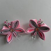 """Работы для детей, handmade. Livemaster - original item Hair clips """"Butterfly BEAUTIES"""". Handmade."""