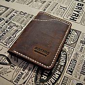 Сумки и аксессуары handmade. Livemaster - original item Wallet men. Handmade.