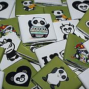 Подарки к праздникам ручной работы. Ярмарка Мастеров - ручная работа Crazy Pandas..Сувенирный набор. Handmade.