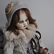 Куклы и игрушки ручной работы. Ярмарка Мастеров - ручная работа Дель Арте. Пьеретта. Заказ.. Handmade.