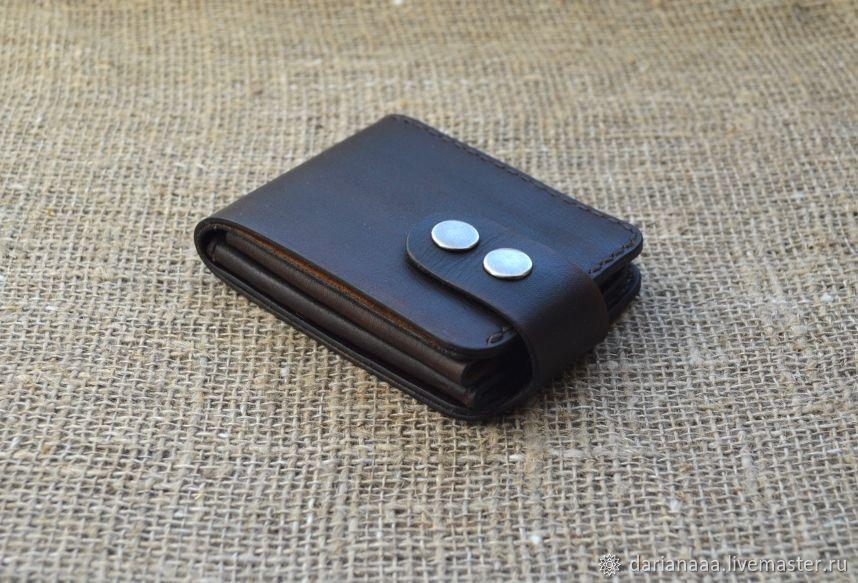 Leather mini wallet №3, Wallets, Sizran,  Фото №1