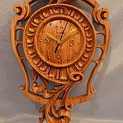 Часы ручной работы. Ярмарка Мастеров - ручная работа Деревянные настенные часы. Handmade.