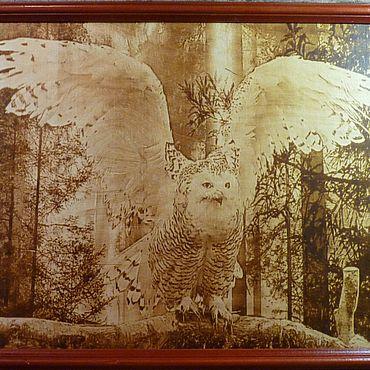Картины и панно ручной работы. Ярмарка Мастеров - ручная работа Картины: картина на деревянной поверхности. Handmade.