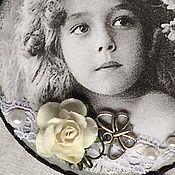 Для дома и интерьера ручной работы. Ярмарка Мастеров - ручная работа Шкатулка Маленькая леди. Handmade.
