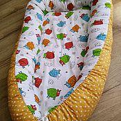 Работы для детей, ручной работы. Ярмарка Мастеров - ручная работа Кокон-гнездышко для новорожденного babynest. Handmade.