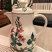 Винтаж handmade. Livemaster - original item Villeroy&Boch Coffee Pot, Botanica, Luxembourg. Handmade.