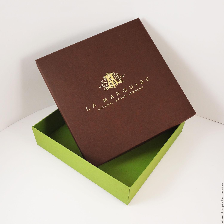 Коробка с тиснением фольгой, Коробки, Москва,  Фото №1