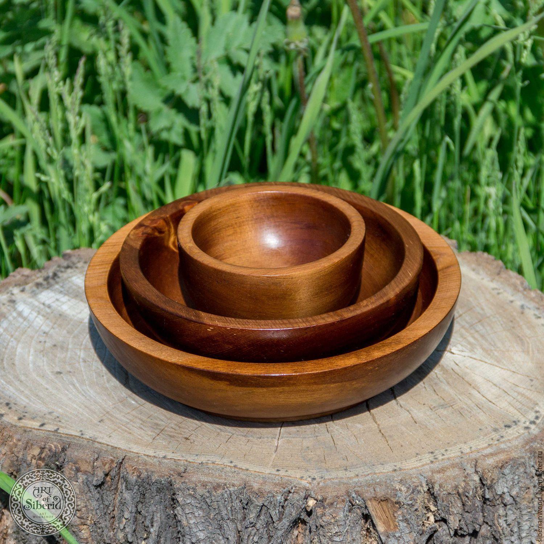 Pine Wooden Plates (3#7, Utensils, Novokuznetsk,  Фото №1