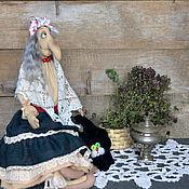 Куклы и игрушки ручной работы. Ярмарка Мастеров - ручная работа Баба Яга - оберег дома. Handmade.