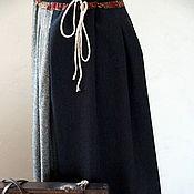 Одежда handmade. Livemaster - original item A poneva everyday skirt of wool tweed. Handmade.