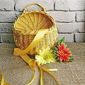 Кармашки ручной работы. Ярмарка Мастеров - ручная работа Подвесная корзинка. Handmade.