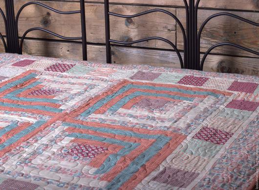 Лоскутное одеяло `Мельничка`