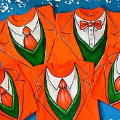 """Одежда ручной работы. Ярмарка Мастеров - ручная работа Футболки """"Стильный оранжевый"""" для всех!. Handmade."""