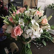 Свадебные букеты ручной работы. Ярмарка Мастеров - ручная работа Букет Невесты. Handmade.