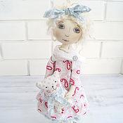 """Куклы и игрушки ручной работы. Ярмарка Мастеров - ручная работа Кукла текстильная """"Мечтательница"""". Handmade."""
