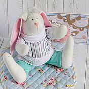 Куклы и игрушки ручной работы. Ярмарка Мастеров - ручная работа Мятная зайка. Handmade.