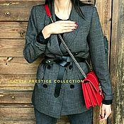 Пиджаки ручной работы. Ярмарка Мастеров - ручная работа Жакет Latvia Limited Edition в Офис и на Выход. Handmade.