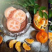 """Косметика ручной работы. Ярмарка Мастеров - ручная работа Сахарный скраб """"Сочный апельсин"""". Handmade."""