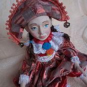 Куклы и пупсы ручной работы. Ярмарка Мастеров - ручная работа Кукла Коломбина. Handmade.