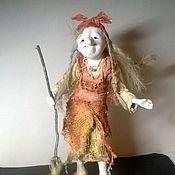 """Куклы и игрушки ручной работы. Ярмарка Мастеров - ручная работа куколка """"ЗдрасЬте,  это я !"""". Handmade."""