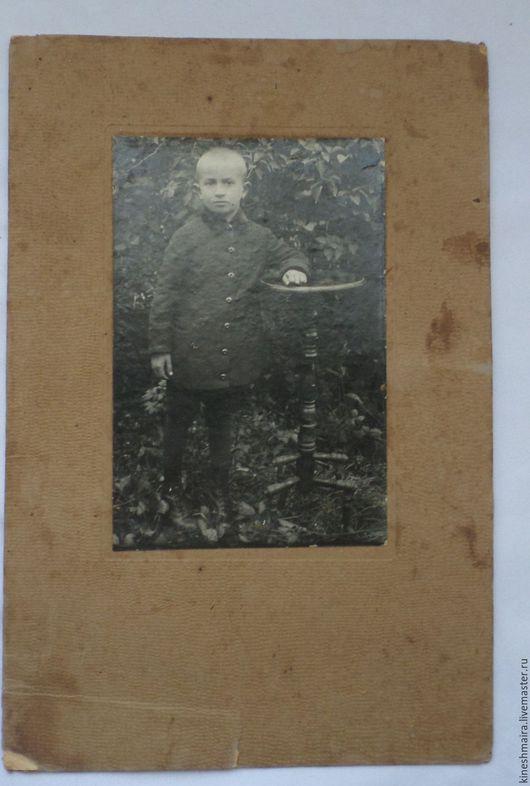 Винтажные книги, журналы. Ярмарка Мастеров - ручная работа. Купить Старинная фотогафия.. Handmade. Серый, подарок