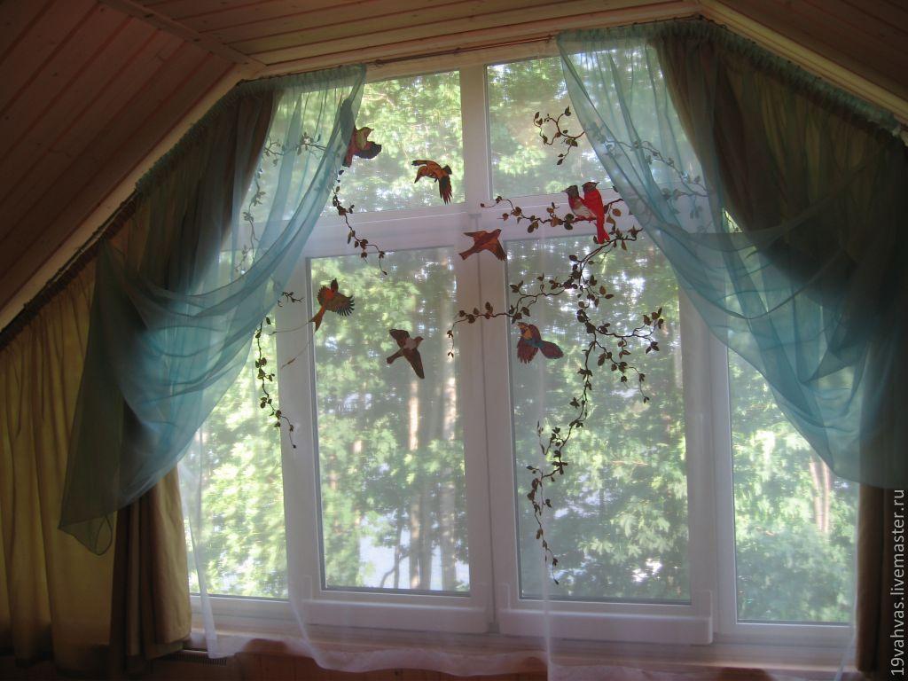 Бант для шторы своими руками