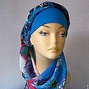 """Аксессуары ручной работы. Ярмарка Мастеров - ручная работа """"Круиз"""" - 04 пляжный головной убор хиджаб. Handmade."""