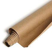 Крафт-бумага оберточная в рулоне, 10 метров, плотность 80 г.