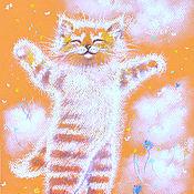 Картины и панно ручной работы. Ярмарка Мастеров - ручная работа Оранжевое счастье быть рыжим. Handmade.