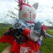 """Куклы и игрушки ручной работы. Ярмарка Мастеров - ручная работа Кошечка тильда """" Варя """". Handmade."""