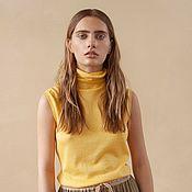 Одежда handmade. Livemaster - original item Cashmere t-shirt Sunny. Handmade.