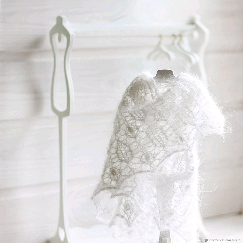 Пуховые шали для кукол, Одежда для кукол, Тула,  Фото №1