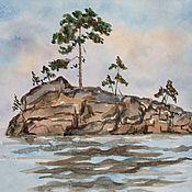 Картины и панно ручной работы. Ярмарка Мастеров - ручная работа Морская тема. Handmade.