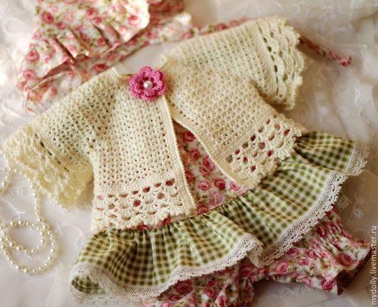 Одежда для кукол ручной работы. Ярмарка Мастеров - ручная работа. Купить Комплект одежды для куклы 38- 40 см. Handmade.