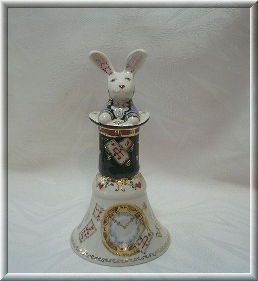 """Author the bell of thin-walled porcelain """"for Alice, Kolokolchiki, Moscow,  Фото №1"""