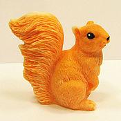 Косметика ручной работы handmade. Livemaster - original item Soap Squirrel. Handmade.