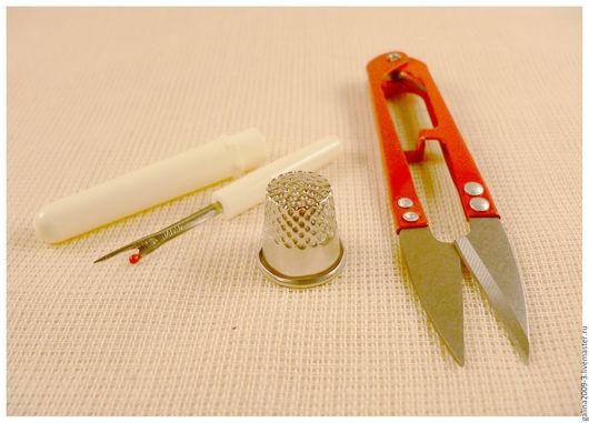 Шитье ручной работы. Ярмарка Мастеров - ручная работа. Купить Набор для шитья.. Handmade. Комбинированный, для шитья, вспарыватель, металлическая фурнитура