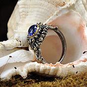 Rings handmade. Livemaster - original item Ring tanzanite, silver forging. Handmade.