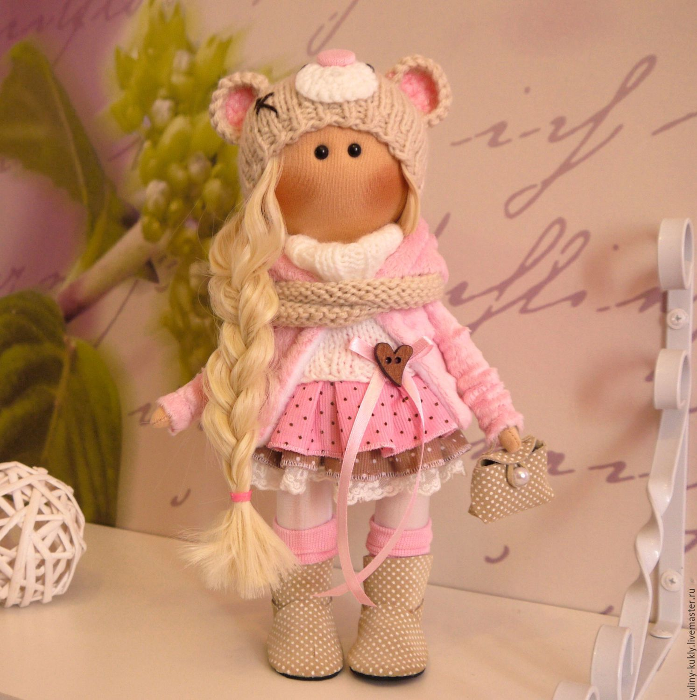 Ткстилььная куколка-малышка Минки, Куклы и пупсы, Санкт-Петербург,  Фото №1